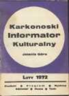 Karkonoski Informator Kulturalny, luty 1972