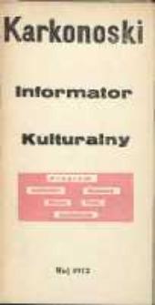 Karkonoski Informator Kulturalny, maj 1972