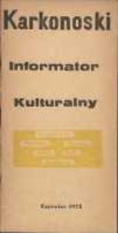 Karkonoski Informator Kulturalny, czerwiec 1972