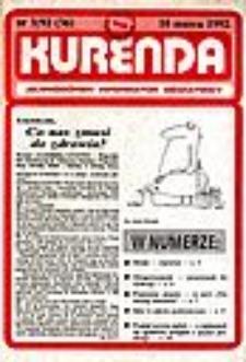 Kurenda : jeleniogórski informator oświatowy, 1992, nr 3 (36)