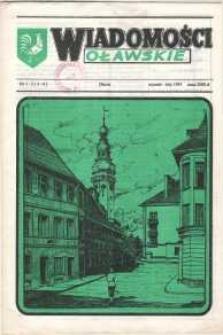 Wiadomości Oławskie, 1991, nr 1/2 (3-4)