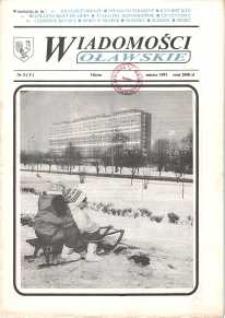 Wiadomości Oławskie, 1991, nr 3 (5)