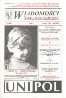 Wiadomości Oławskie, 1991, nr 6 (8)