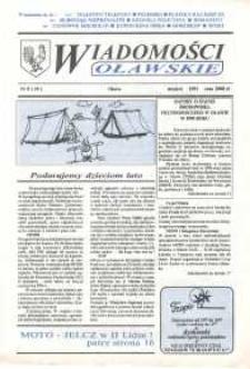 Wiadomości Oławskie, 1991, nr 8 (10)