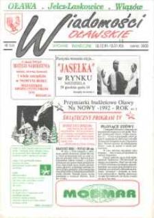 Wiadomości Oławskie, 1991, nr 13 (15-16) wyd. świąteczne