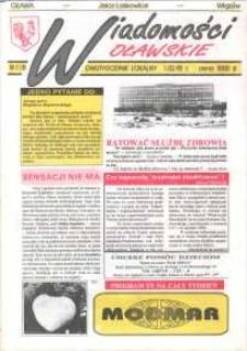 Wiadomości Oławskie, 1992, nr 2 (18)