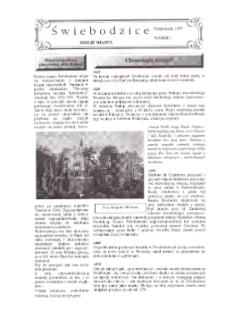 Świebodzice - Dzieje Miasta, 1997, nr 1 (1) [Dokument elektroniczny]