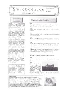 Świebodzice - Dzieje Miasta, 1997, nr 2 (2) [Dokument elektroniczny]