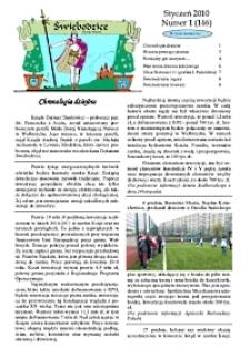 Świebodzice - Dzieje Miasta, 2010, nr 1 (146) [Dokument elektroniczny]
