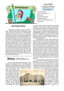 Świebodzice - Dzieje Miasta, 2008, nr 2 (123) [Dokument elektroniczny]