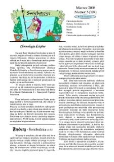 Świebodzice - Dzieje Miasta, 2008, nr 3 (124) [Dokument elektroniczny]