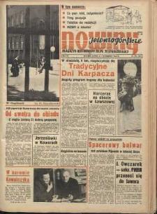 Nowiny Jeleniogórskie : magazyn ilustrowany ziemi jeleniogórskiej, R. 7, 1964, nr 32 (332)