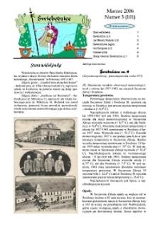 Świebodzice - Dzieje Miasta, 2006, nr 3 (101) [Dokument elektroniczny]
