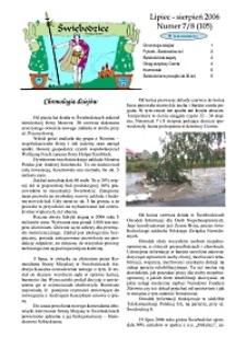 Świebodzice - Dzieje Miasta, 2006, nr 7/8 (105) [Dokument elektroniczny]