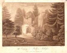 Eingang des Bolzen - Schlosses [Dokument ikonograficzny]