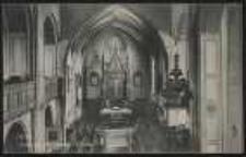 Ohlau - Inneres der evang. Kirche [Dokument ikonograficzny]