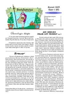 Świebodzice - Dzieje Miasta, 2005, nr 1 (87) [Dokument elektroniczny]