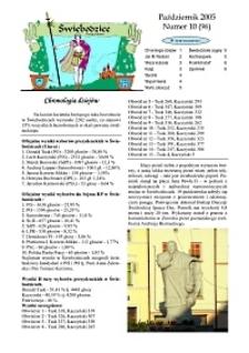 Świebodzice - Dzieje Miasta, 2005, nr 10 (96) [Dokument elektroniczny]