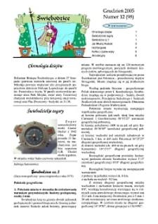 Świebodzice - Dzieje Miasta, 2005, nr 12 (98) [Dokument elektroniczny]