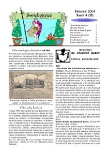 Świebodzice - Dzieje Miasta, 2004, nr 4 (78) [Dokument elektroniczny]