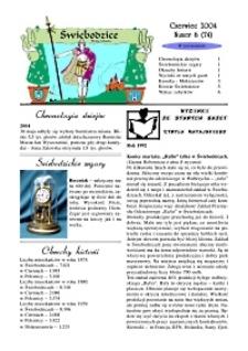 Świebodzice - Dzieje Miasta, 2004, nr 6 (74!) [Dokument elektroniczny]
