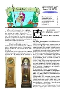 Świebodzice - Dzieje Miasta, 2004, nr 7/8 (81/82) [Dokument elektroniczny]