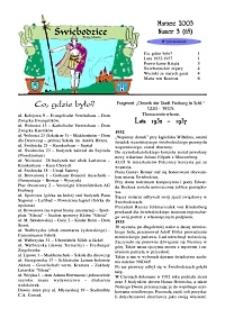 Świebodzice - Dzieje Miasta, 2003, nr 3 (65) [Dokument elektroniczny]