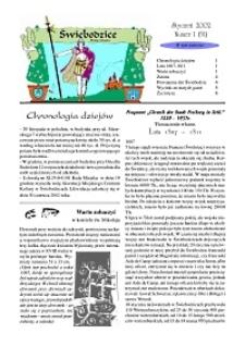 Świebodzice - Dzieje Miasta, 2002, nr 1 (51) [Dokument elektroniczny]
