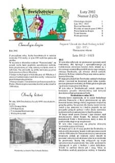 Świebodzice - Dzieje Miasta, 2002, nr 2 (52) [Dokument elektroniczny]