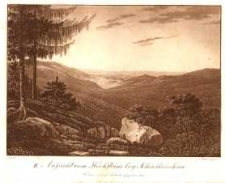 Aussicht vom Hochsteine bey Schreibershau [Dokument ikonograficzny]