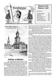 Świebodzice - Dzieje Miasta, 2001, nr 1 (39) [Dokument elektroniczny]