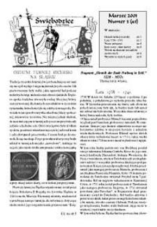 Świebodzice - Dzieje Miasta, 2001, nr 3 (41) [Dokument elektroniczny]
