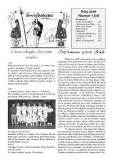 Świebodzice - Dzieje Miasta, 2000, nr 5 (31) [Dokument elektroniczny]
