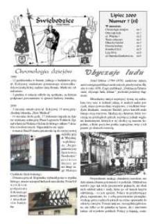 Świebodzice - Dzieje Miasta, 2000, nr 7 (33) [Dokument elektroniczny]