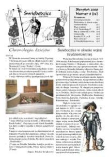 Świebodzice - Dzieje Miasta, 2000, nr 8 (34) [Dokument elektroniczny]