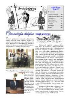 Świebodzice - Dzieje Miasta, 1999, nr [8] (22) [Dokument elektroniczny]