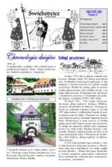 Świebodzice - Dzieje Miasta, 1999, nr [9] (23) [Dokument elektroniczny]
