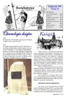 Świebodzice - Dzieje Miasta, 1999, nr [10] (24) [Dokument elektroniczny]