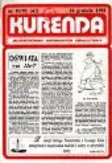 Kurenda : jeleniogórski informator oświatowy, 1992, nr 10 (43)
