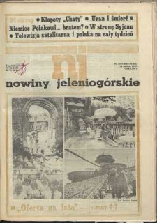 Nowiny Jeleniogórskie : tygodnik społeczny, [R. 34], 1991, nr 26 (1637)