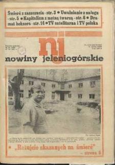 Nowiny Jeleniogórskie : tygodnik społeczny, [R. 34], 1991, nr 29 (1640)