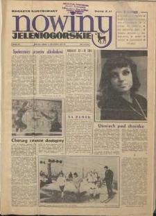 Nowiny Jeleniogórskie : magazyn ilustrowany ziemi jeleniogórskiej, R. 15, 1972, nr 1 (712)
