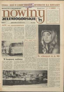 Nowiny Jeleniogórskie : magazyn ilustrowany ziemi jeleniogórskiej, R. 15, 1972, nr 3 (714)