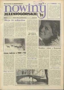 Nowiny Jeleniogórskie : magazyn ilustrowany ziemi jeleniogórskiej, R. 15, 1972, nr 6 (717)