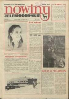 Nowiny Jeleniogórskie : magazyn ilustrowany ziemi jeleniogórskiej, R. 15, 1972, nr 7 (718)