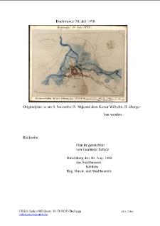 Hochwasser 30. Juli 1898