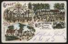 Gruss aus dem Oderschlösschen Bürgersäle Ohlau [Dokument ikonograficzny]