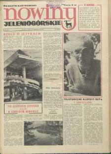 Nowiny Jeleniogórskie : magazyn ilustrowany ziemi jeleniogórskiej, R. 15, 1972, nr 34 (745)