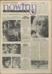 Nowiny Jeleniogórskie : magazyn ilustrowany ziemi jeleniogórskiej, R. 15, 1972, nr 39 (750)