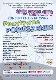 Koncert charytatywny. Pozytywne poruszenie!